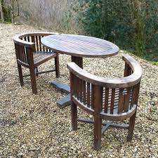 Teak Garden Table An Original Heals Teak Garden Set C1930 In Outdoor