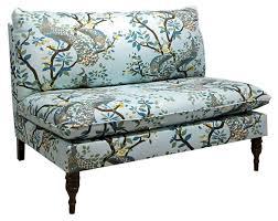 small modern armless sofa centerfieldbar com