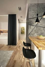 young couple room studio apartments design architecture arthur casas drawings for