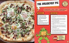 the teenage mutant ninja turtles pizza cookbook peggy paul