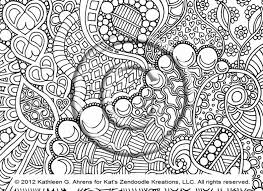 coloring page hand drawn zentangle inspired psychedelic 562847