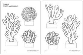 coral reef cartoon coloring pages nvsi