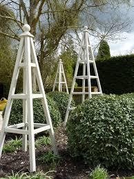 219 best wooden garden obelisks images on garden obelisk