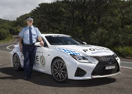 lexus rc f turbo lexus rc f joins nsw police force forcegt com