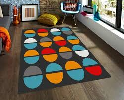 Modern Rugs Affordable Modern Rug Area Rugs With Colorful Shapes 5x8 Rug Affordable