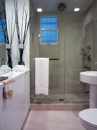 how to clean glass shower doors for a transitional bathroom with a
