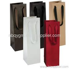 wine gift bag wine paper bags from china manufacturer ningbo qingying industry
