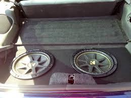 camaro speaker box custom sub enclosure for rear seat cushions camaro zone camaro