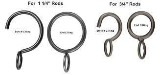 c rings c rings and end rings 3 4 and 1 1 4 rods metal mania