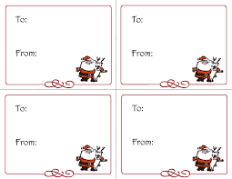 christmas labels free printable templates u2013 festival collections