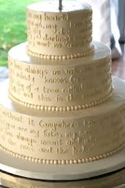 wedding cake song the sweetest bookish wedding cakes songs cake and