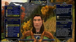 online photo class lord of the rings online classes and races