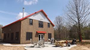 Gambrel Pole Barn by High Pitched Gable Barns Are One Of The Oldest Barn Designs