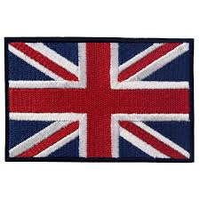 embtao british union jack embroidered patch england flag uk great