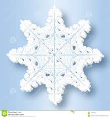 paper snowflake royalty free stock photography image 34953297