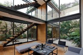 Home Courtyards House With Four Courtyards Andrés Stebelski Arquitecto Archdaily