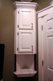 bathroom surprising corner bathroom cabinet russellbathroombltin