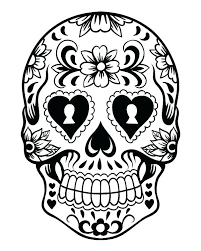 printable coloring pages sugar skulls free skull coloring pages sugar skull color pages printable day of