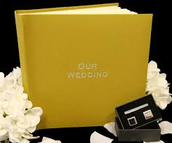 online wedding albums the somerset linen wedding album features a linen cover and