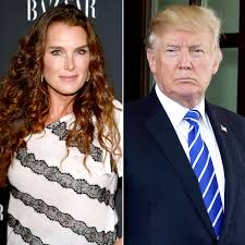 brooke shields reveals pickup line donald trump used on her