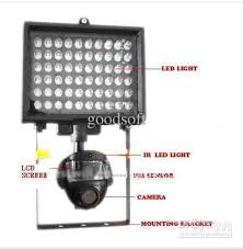 Motion Light With Camera Security Lights With Pir Pirlight New Generation Solar Led