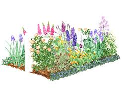 cottage garden plans free simple how to landscape a shady yard