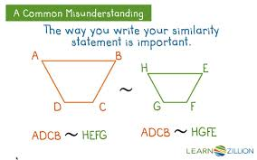 determine if two figures are similar using transformations and