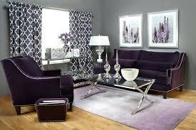 Living Room With Purple Sofa Purple Sofa Velvet Sofa Tufted Sofa Purple Sofa Sofa Furniture