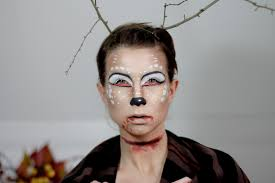 oh deer halloween make up tutorial cats u0026 dogs fashion