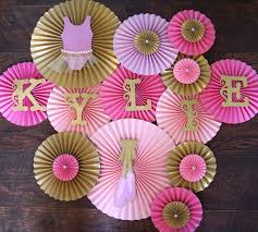 ballerina baby shower theme ballerina theme paper rosettes for tutu themed baby shower