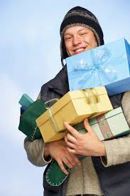 prepared lds family missionary christmas care package with scriptures