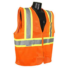 cl l home depot radians cl 2 with contrast orange 5x safety vest sv22 2zom 5x the