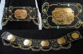 Flower Belts - spanish flower belt black
