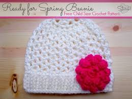 Ready For Spring by Ready For Spring Beanie Child Size Crochet Pattern Stitch11
