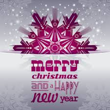 clipart merry and a happy new year card 2