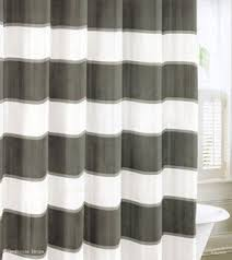 Charcoal Shower Curtain Cotton Shower Curtain Foter