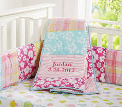 Baby Coverlet Sets Lahaina Baby Bedding Set Pottery Barn Kids