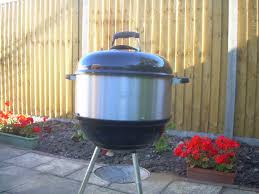 smoke rotisserie or add cooking space to your kettle barbecue