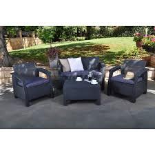 Patio Furniture Conversation Sets - montclair outdoor patio furniture