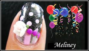 neon polka dot french nail art tutorial pink polka dot birthday nails cute free hand nail art tutorial