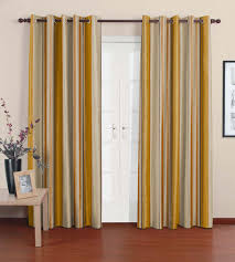 Yellow Brown Curtains Yellow Curtain Furniture Ideas Deltaangelgroup