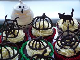 chocolate halloween cakes halloween chocolate cake toppers with choco writers garden tea