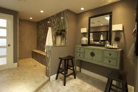 small bathroom designs with walkin shower sandy brown futuristic