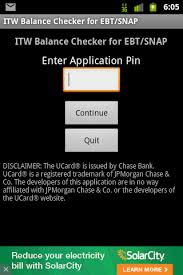 balance 4 snap and ebt for android free download and software
