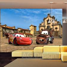 chambre mcqueen disney cars lightning mcqueen martin in italy wallpaper