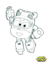 coloring pages kids free images super wings free coloring