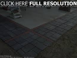 Concrete Patio With Pavers Menards Concrete Patio Pavers Patio Outdoor Decoration