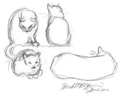 daily sketch easy like sunday the sketch the creative cat