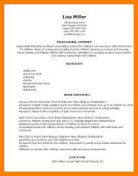 Babysitting Resume 100 Babysitter Resume Training Resumes U2013 Sample Resumes