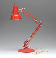 Red Desk Light Red Luxo Norway Desk Lamp Ebth